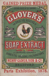 Advert For Glover's Extract Of Soap